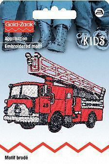 PRYM Aufbügel Applikation Feuerwehrauto