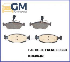 4-PASTIGLIE-FRENO-ANT-BOSCH-0986494463-FIAT-PUNTO-199-1-4-57KW