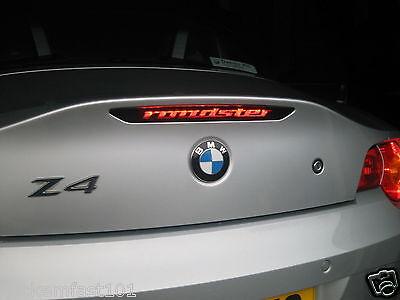 BMW E46 3-Series 3rd brake light decal overlay 1999 2000 2001 2002 2003 04 05 06