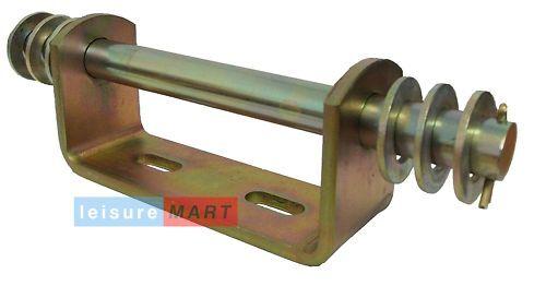 Combination keel castor roller trailer bracket 19mm LMX687