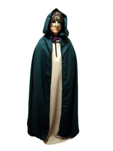 Merlins Medieval Closet Unisex Cloak Legoslas//Frodo//LOTR//Pirate//Arwen//Pagan