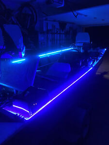 Details About Wireless Waterproof Led Strip Light Car Boat Interior Accent Lights Kit 16ft