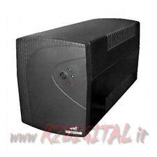 UPS MACH POWER LIT13 ONDA SINUSOIDALE 1300VA LCD LED GRUPPO DI CONTINUITA PC