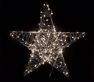 Deko Weihnachts Stern Mit Led 3 Grossen Weihnachtsdeko Aussen
