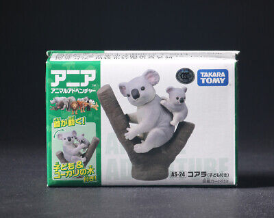 New Takara Tomy ANIA Animal Adventure Mini Action Figure AS-24 Koala Model