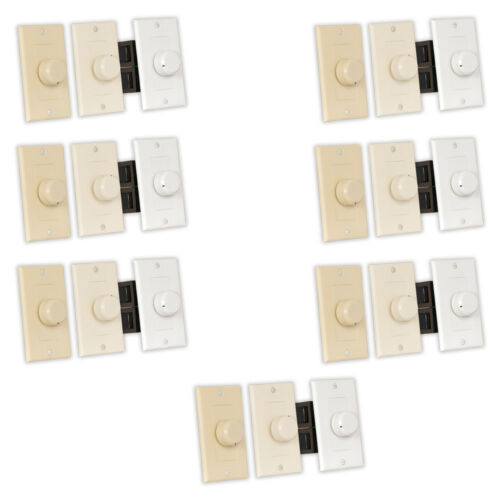 Theater Solutions TSVCD Indoor Speaker Volume Controls 3 Color Dial 7 Piece Pack