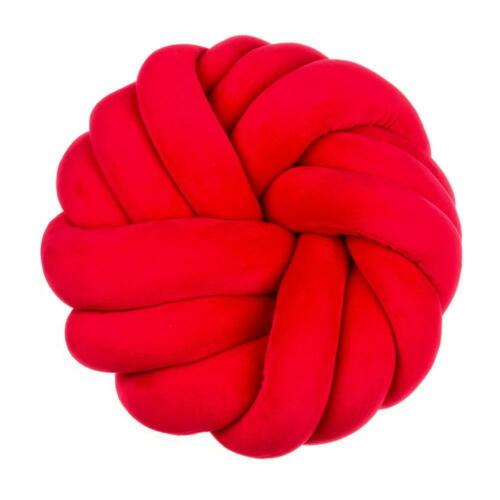 Round Knot Pillow Hand-woven Cushion Throw Pillow for Home Sofa Decoration