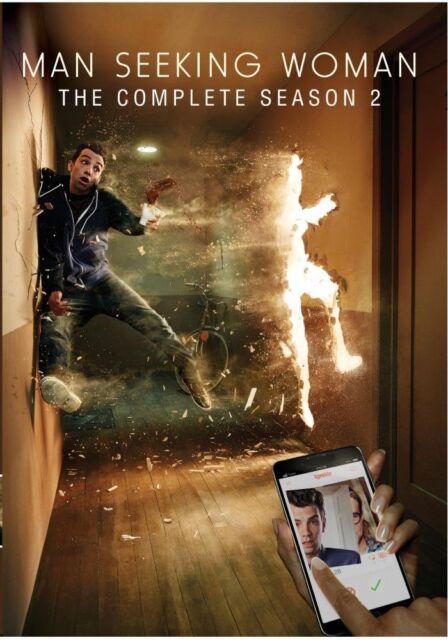 MAN SEEKING WOMAN  : THE COMPLETE SEASON 2  Region Free DVD - Sealed