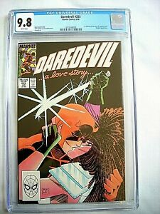 Marvel-DAREDEVIL-255-CGC-9-8-NM-MT-White-Pages-1988-Typhoid-Mary-Highest-Grade