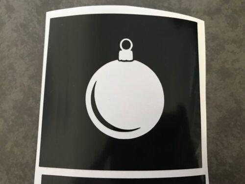 X5 Babiole Pochoir Verre Craft gravé Vinyle Autocollant Silhouette Noël Elf