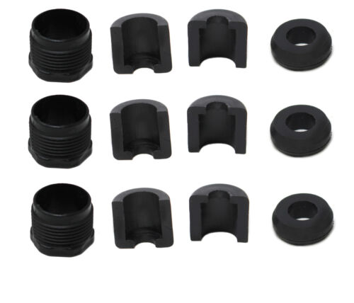 Plastic Rev Cable Lock Nut Kit 3 Pk Compatible with SeaDoo 277001729 277000055