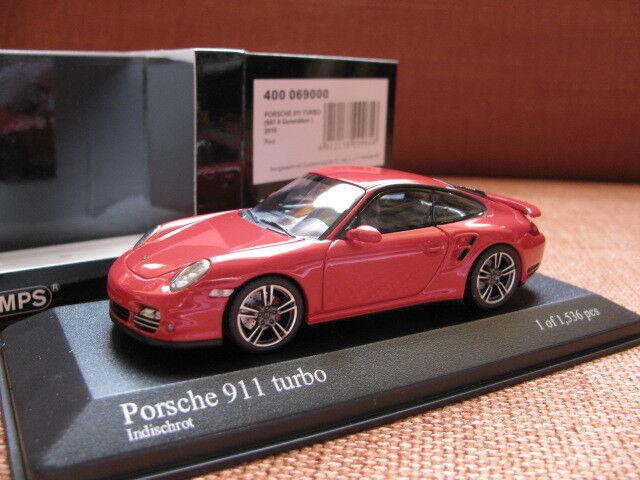 1/43 Minichamps Porsche 911 Turbo (997 Ii) 2018 Diecast