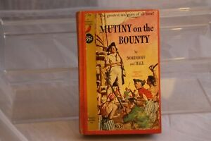 Mutiny-On-the-Bounty-1961-Cardinal-Edition-Pocket-Books-Hardback-Nordhoff-amp-Hall