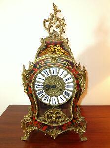 Big-Watch-IN-Boulle-Type-8-Tage-Werk-Franz-Hermle-amp-Son-Gosheim