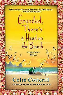1 of 1 - Grandad, There's a Head on the Beach: A Jimm Juree Mystery (Jimm Juree-ExLibrary