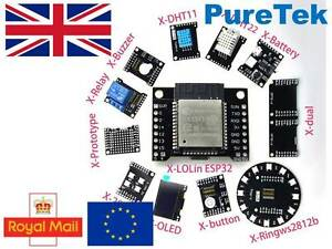 Details about X-Project X-ESP32 X-ESP8266 & X-Shields compatible with  NodeMCU & Arduino