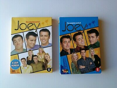 Joey Complete Season 1 and 2 DVD Sets * Friends Spinoff