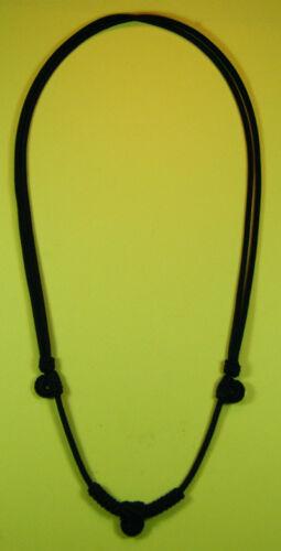 Thai Amulet Black handmade necklace 3 hooks small