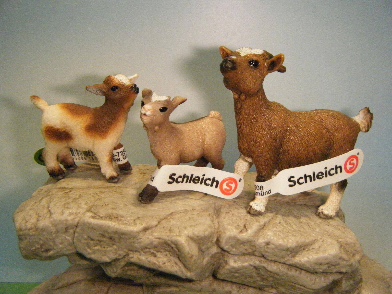Schleich zwerg ziege   13715 kind   13716 & kind meckern   13717  neu  2012
