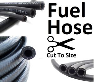 Rubber Fuel Hose Reinforced Unleaded Petrol Diesel Oil Engine Line Pipe All Size