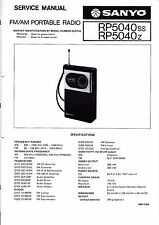 Service Manual Instructions for Sanyo RP 8880 Approx  for sale