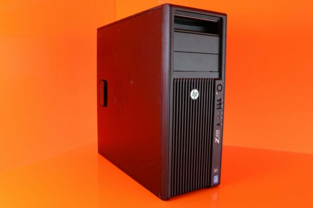 HP Z420 INTEL XEON E5-1603 2 80GHZ 4 CORE 16GB DDR3 RAM NVIDIA K600  WORKSTATION