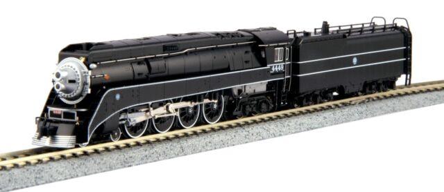 KATO 1260312 N Scale 4-8-4 GS-4 STEAM LOCO BNSF Black Excursion #4449 126-0312