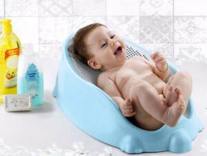 Mesh Baby Bath Pink Soft Touch Baby Bath Tube Support BPA Free Max.15kg