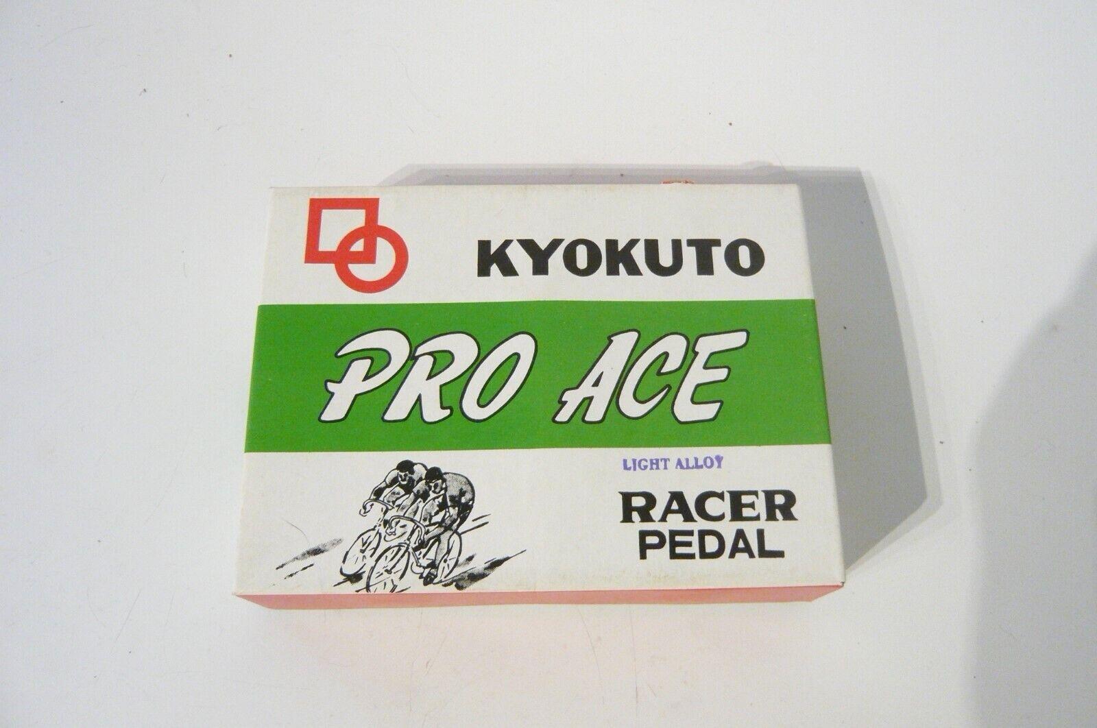 Kyokuto Pro Ace Vintage juego de Pedal de carretera Británico Thread Superlight