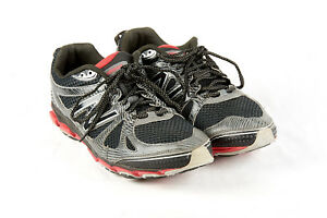 f7513f5f6d0 Mens NEW BALANCE Shoes 14 4E in Black Gray Red Trail Running Shoes ...