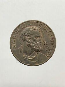 Ville-039-Del-Vatican-Pio-Xi-10-Cents-1941-Rares