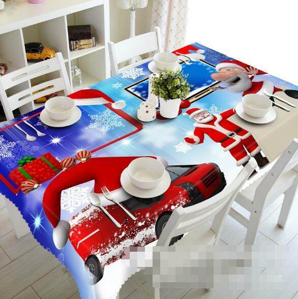 3D rouge Car 52 Tablecloth Table Cover Cloth Birthday Party Event AJ WALLPAPER AU
