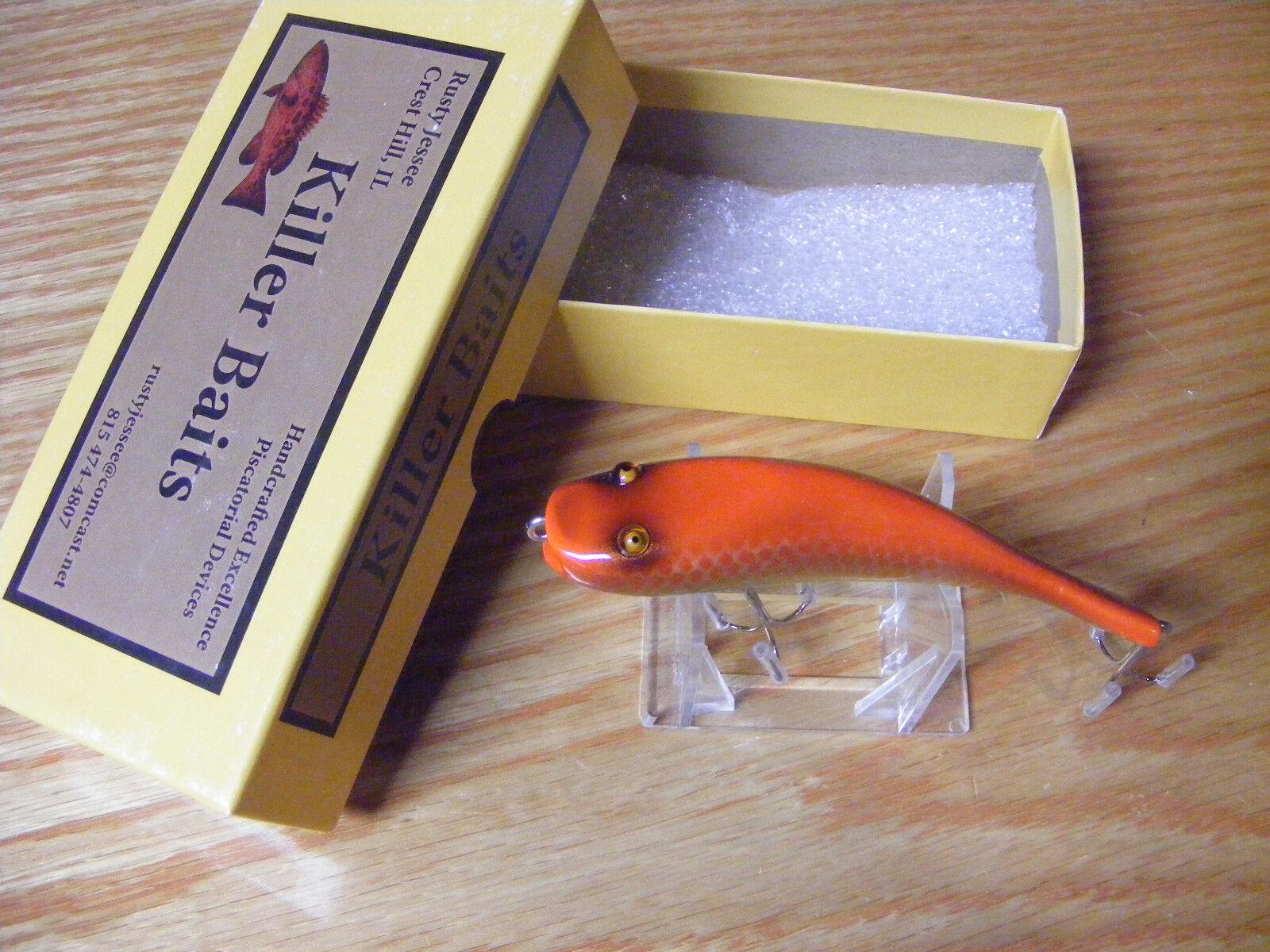 Killer Baits Rusty Jessee Glasseye Bullhead in Autum Scale color
