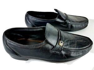 Black Dress Shoes Loafer Black