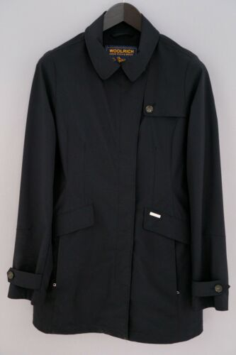 Women Woolrich Coat Black Business Formal L UK14 Z