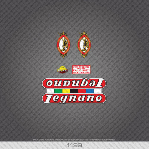 Transfers 01199 Legnano Bicycle Stickers Decals