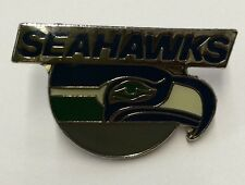 SEATTLE SEAHAWKS NFL Logo Football Lapel Pin by Peter David 1992
