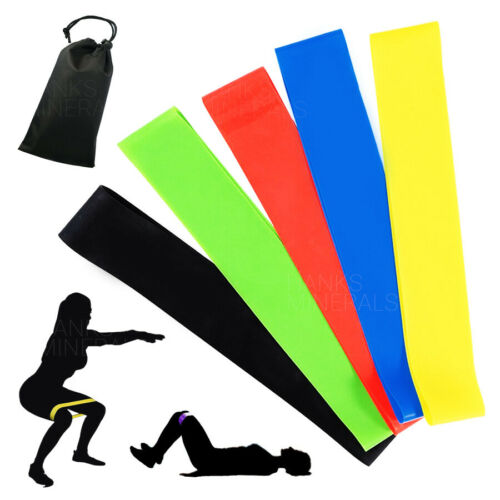 Resistance Bands Set Workout Exercise Gym Loop Fitness Yoga Crossfit Strength