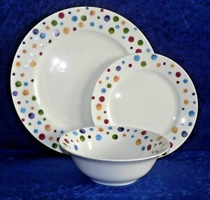 Image is loading Spots-dinner-plates-set-Fine-bone-china-dinner- : china dinner plate - Pezcame.Com