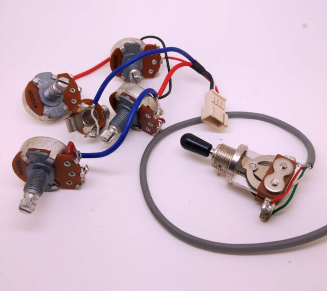 original electric guitar pickup wiring harness kits for epiphone les paul sg
