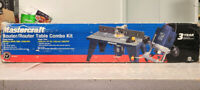 Mastercraft Router/Router Table Combo Kit - OPEN BOX Mississauga / Peel Region Toronto (GTA) Preview