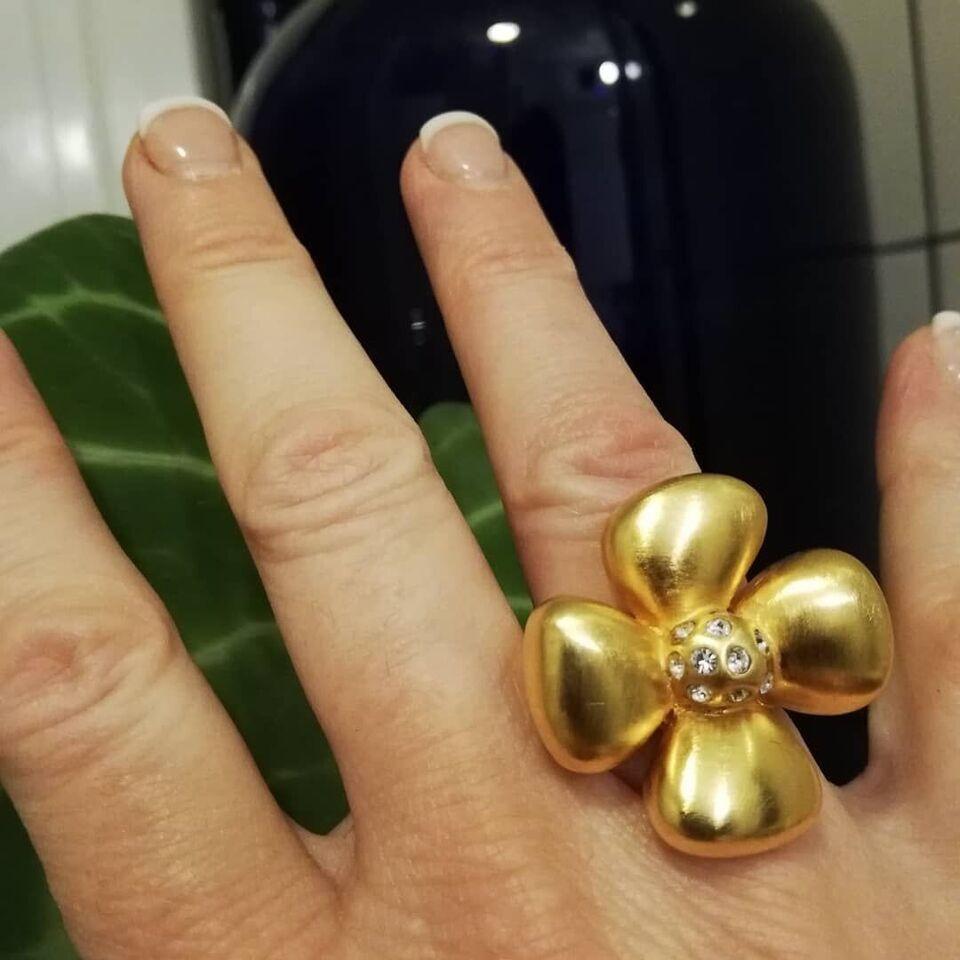 Fingerring, guld, Yves Saint Laurent