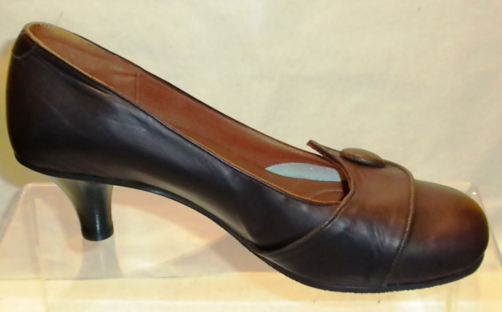 Lisa Nading 'Best' Pumps/Kitten Heels  NEW- in Mocha - BRAND NEW-  Eu 36.5 bdc6f2