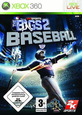 1 von 1 - Microsoft Xbox 360 Spiel The Bigs 2 Baseball