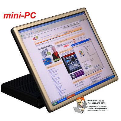 VIRENFRE! LAUTLOS! ALTERNATIVE ZUM NOTEBOOK MINI-PC WINDOWS XP EMBEDDED 43cmTFT