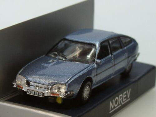 1977 metalizado azul 159014-1:87 Norev citroen cx 2400 GTI