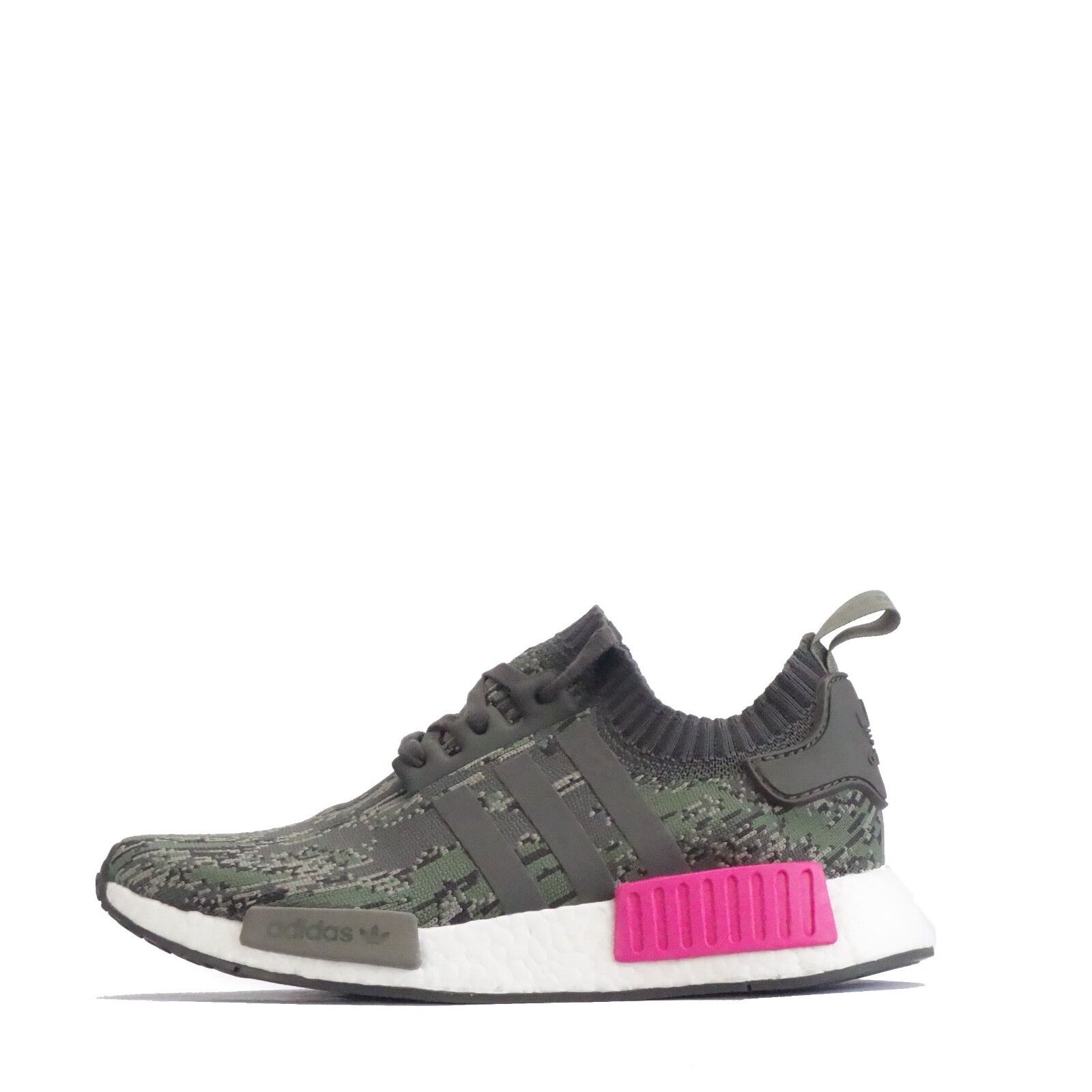 Adidas Originals Nmd R1 R1 R1 Primeknit Herren Turnschuhe Im Trage Grey/Pink a6b357