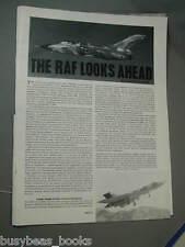1980 article Royal Air Force, cutaways Tornado, Nimrod