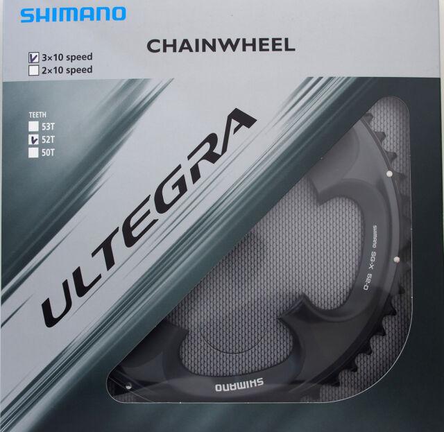 Glossy Grey Shimano Ultegra FC-6703 Chainring 39T Triple 130mm BCD