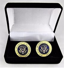 Donald Trump Presidential Cufflinks 45th POTUS Presidential Cuff Links